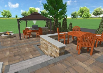 Mcbrearty Project - Raised Patio